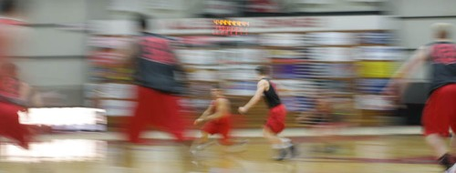 Stephanie Bibb - Mules Basketball Practice Pictures