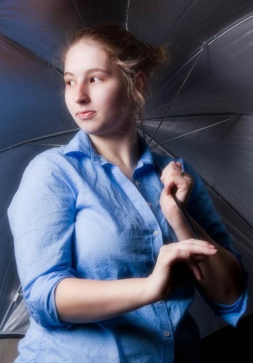 Stephanie Bibb Editorial Alien Bee Lighting Practice