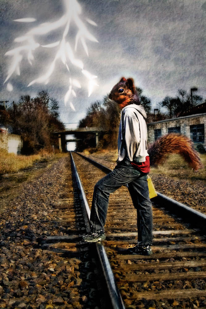 digital montage   Stephanie Flint - Author and Artist