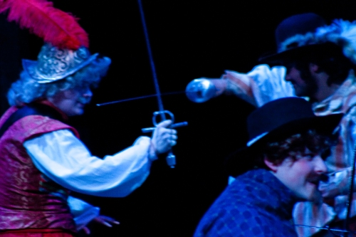 SBibb - UCMO's Three Musketeers Production Photos