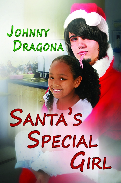 Santa's Special Girl - Book Cover