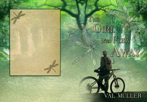 SBibb - The Girl Who Flew Away - Wrap-Around Book Cover
