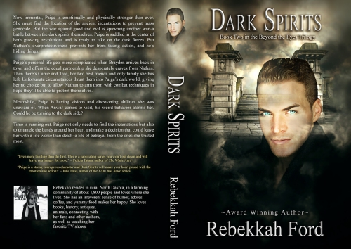 SBiibb - Dark Spirits - Wrap-Around Book Cover Remake