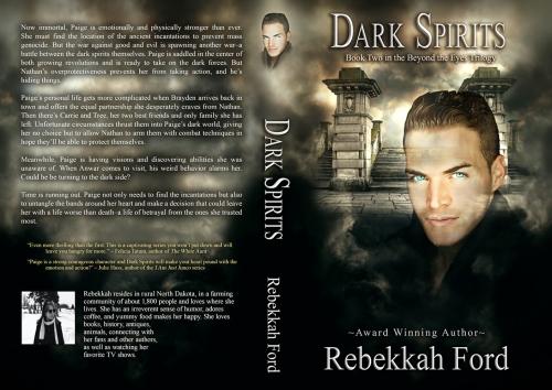 SBiibb - Dark Spirits - Wrap-Around Book Cover Remake