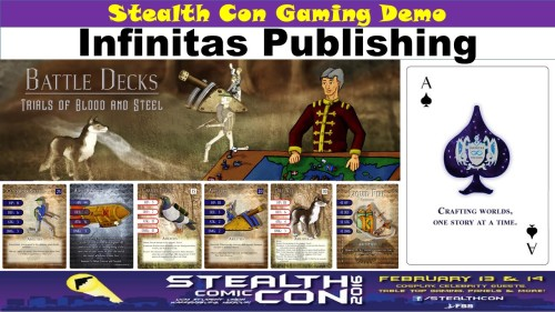 Stealth Con - Infinitas Publishing - Game Demo Announcemen