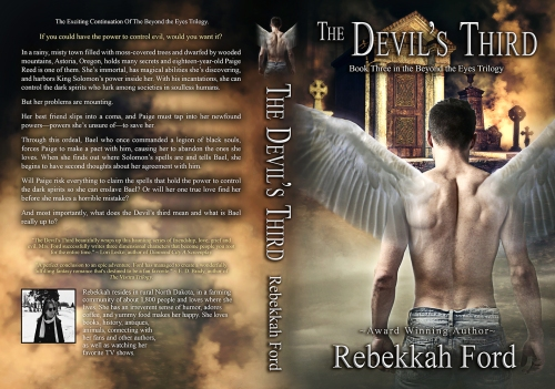 SBibb - The Devil's Third - Wrap-around Book Cover Remake
