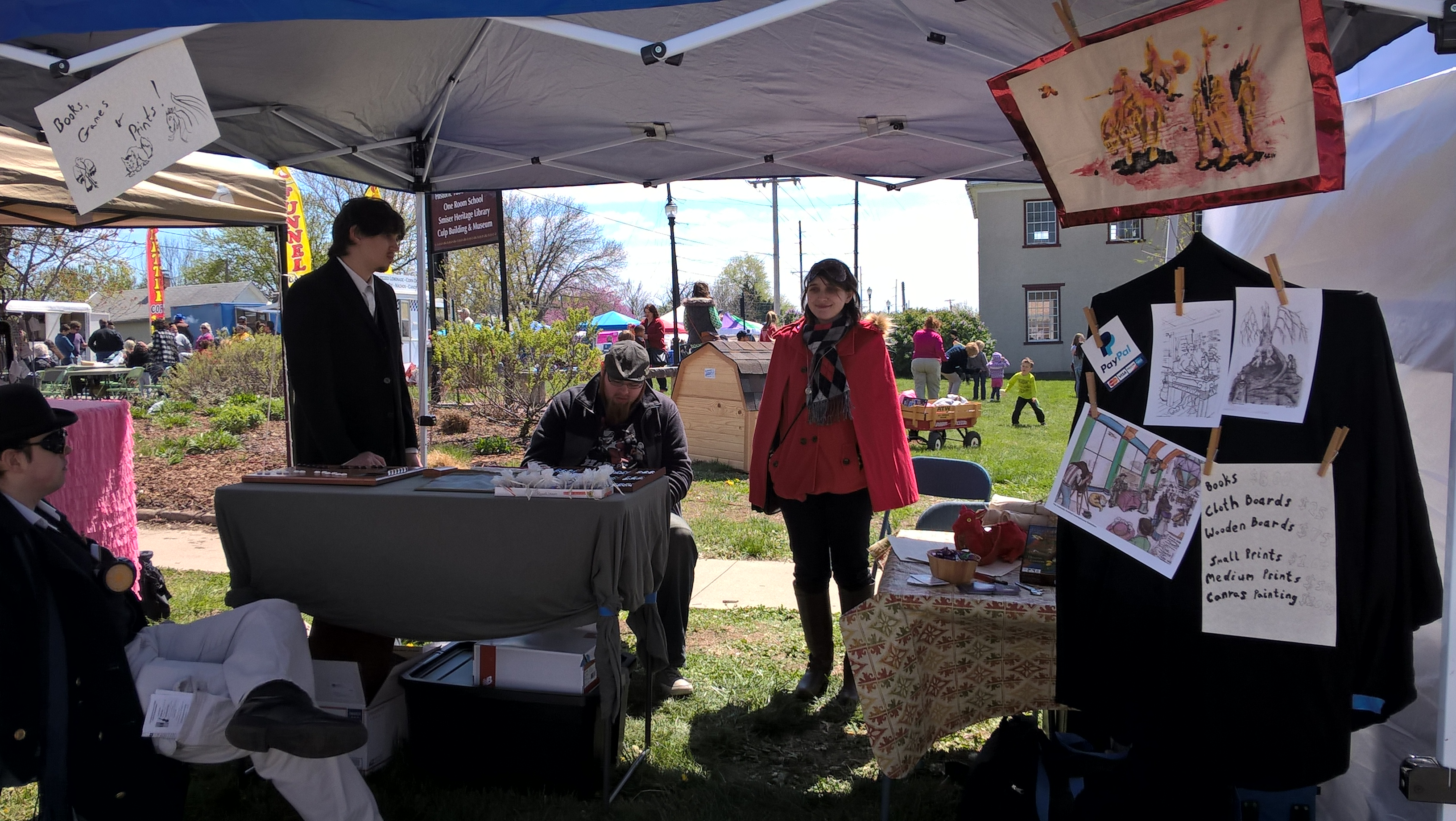 Old Drum Days Festival 2016 -The Booth