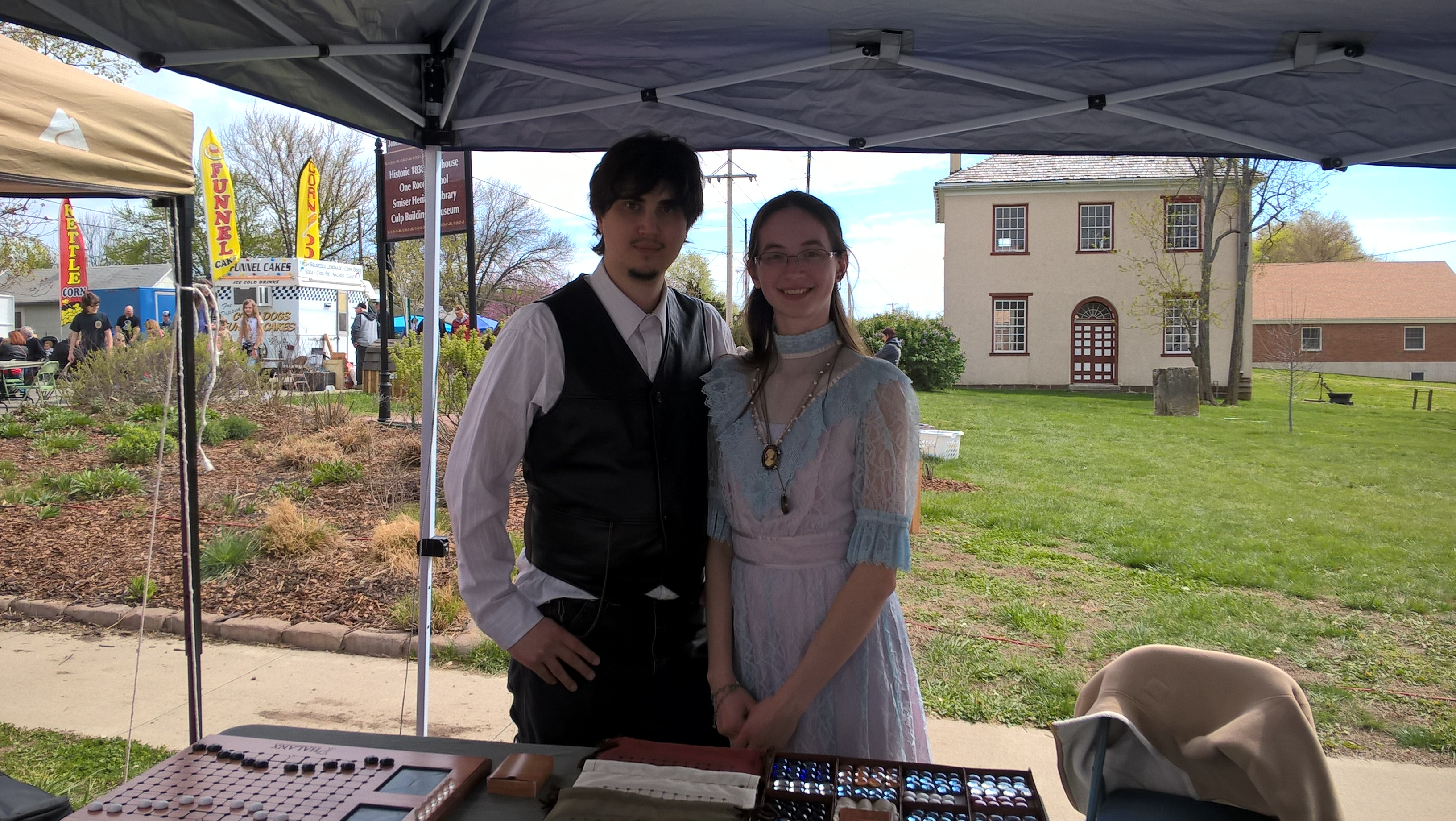 Old Drum Days Festival 2016 - Isaac and Stephanie