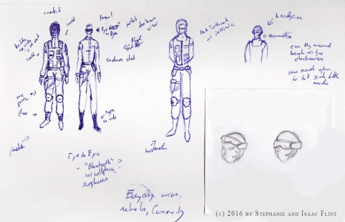 Exiles Special Forces Uniform Concept Art