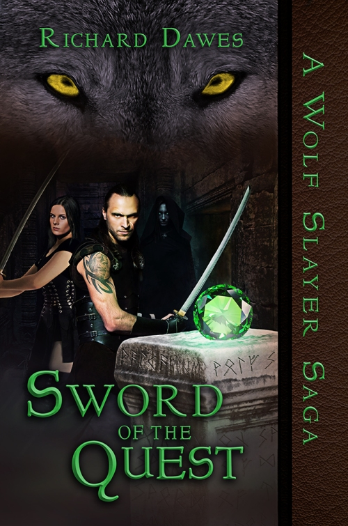 Behind the Scenes - Sword of the Quest - Book Cover