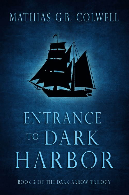 Behind the Scenes - Entrance to Dark Harbor Book Cover