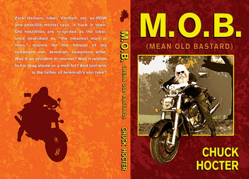 MOB - Wraparound Book Cover