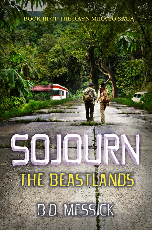 Behind the Scenes - Sojourn: The Beastlands Book Cover