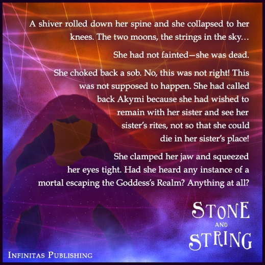 Stone and String - Teaser Blurb