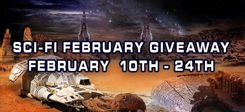 Sci-Fi February Giveaway!