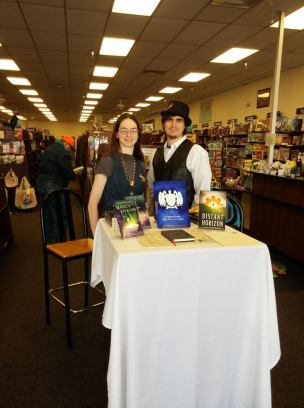 Warrensburg Readers World Book Signing - March 2018