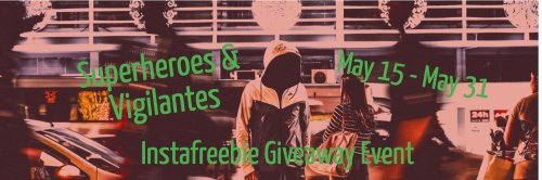 Super Heroes and Vigilantes Ebook Giveaway