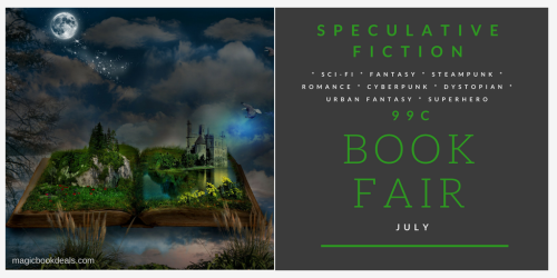 July Speculative Fiction Book Fair - 99 cents