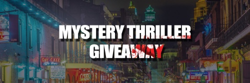 Mystery Thriller Ebook Giveaway