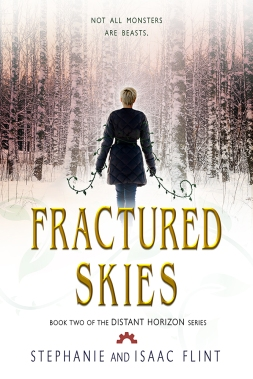 Fractured Skies - Book Cover