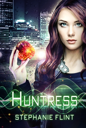 SBibb - Huntress Book Cover