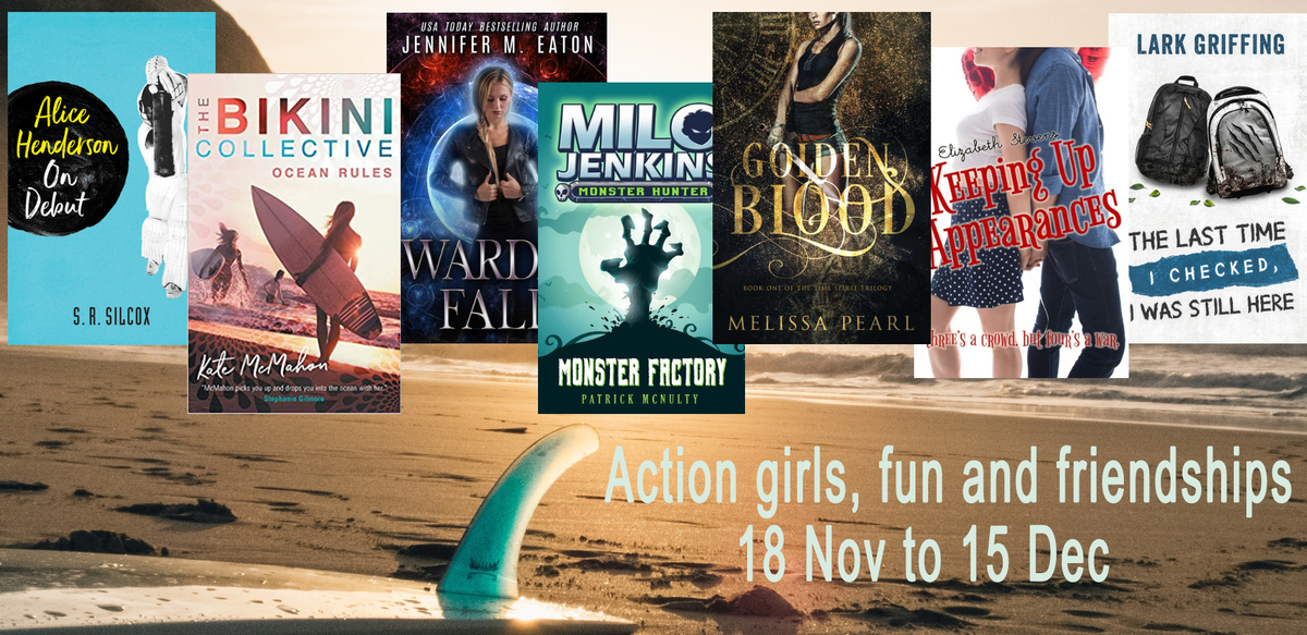 Action Girls, Adventure, and Friendships Ebook Giveaway