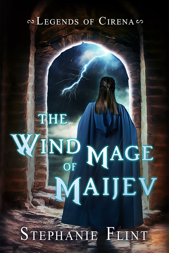 The Wind Mage of Maijev - Book Cover