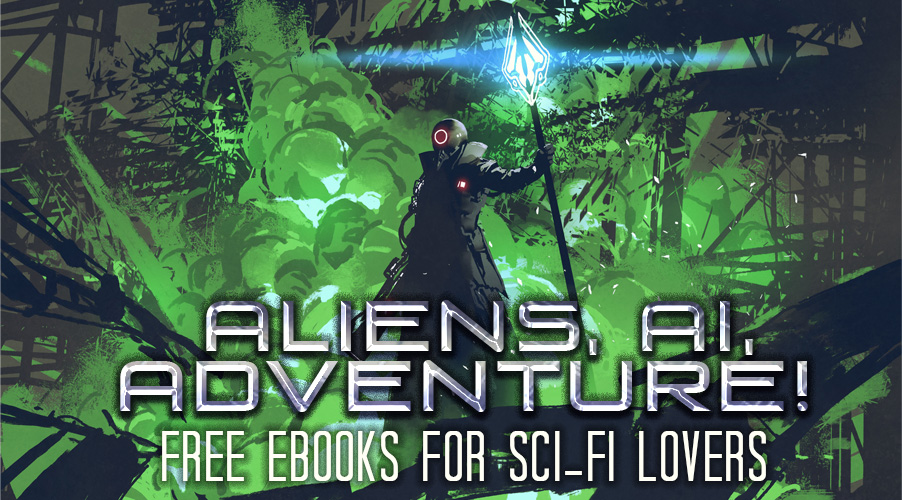 Aliens, AI, and Adventure EBook Promo