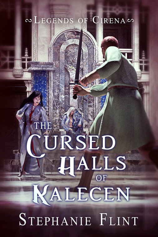 The Cursed Halls of Kalecen - Book Cover