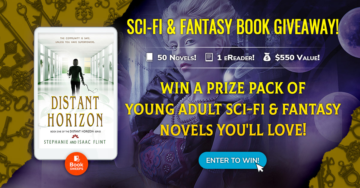 BookSweeps YA Fantasy and Sci-Fi Giveaway - Distant Horizon