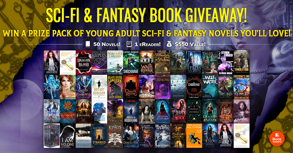 BookSweeps YA Sci-Fi and Fantasy Novels Sweepstakes