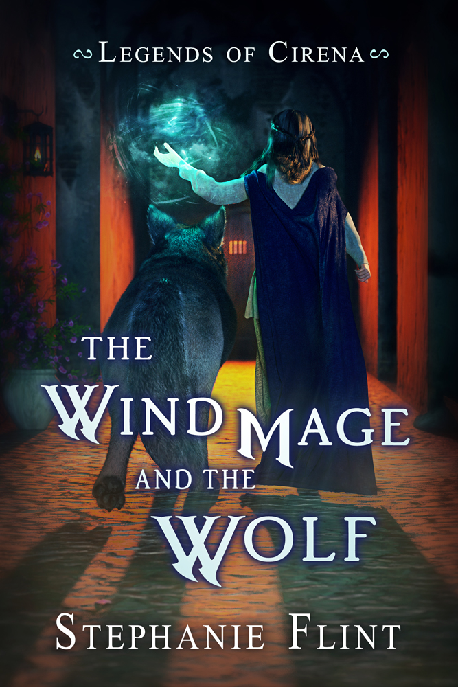 SBibb - The Wind Mage and the Wolf Cover