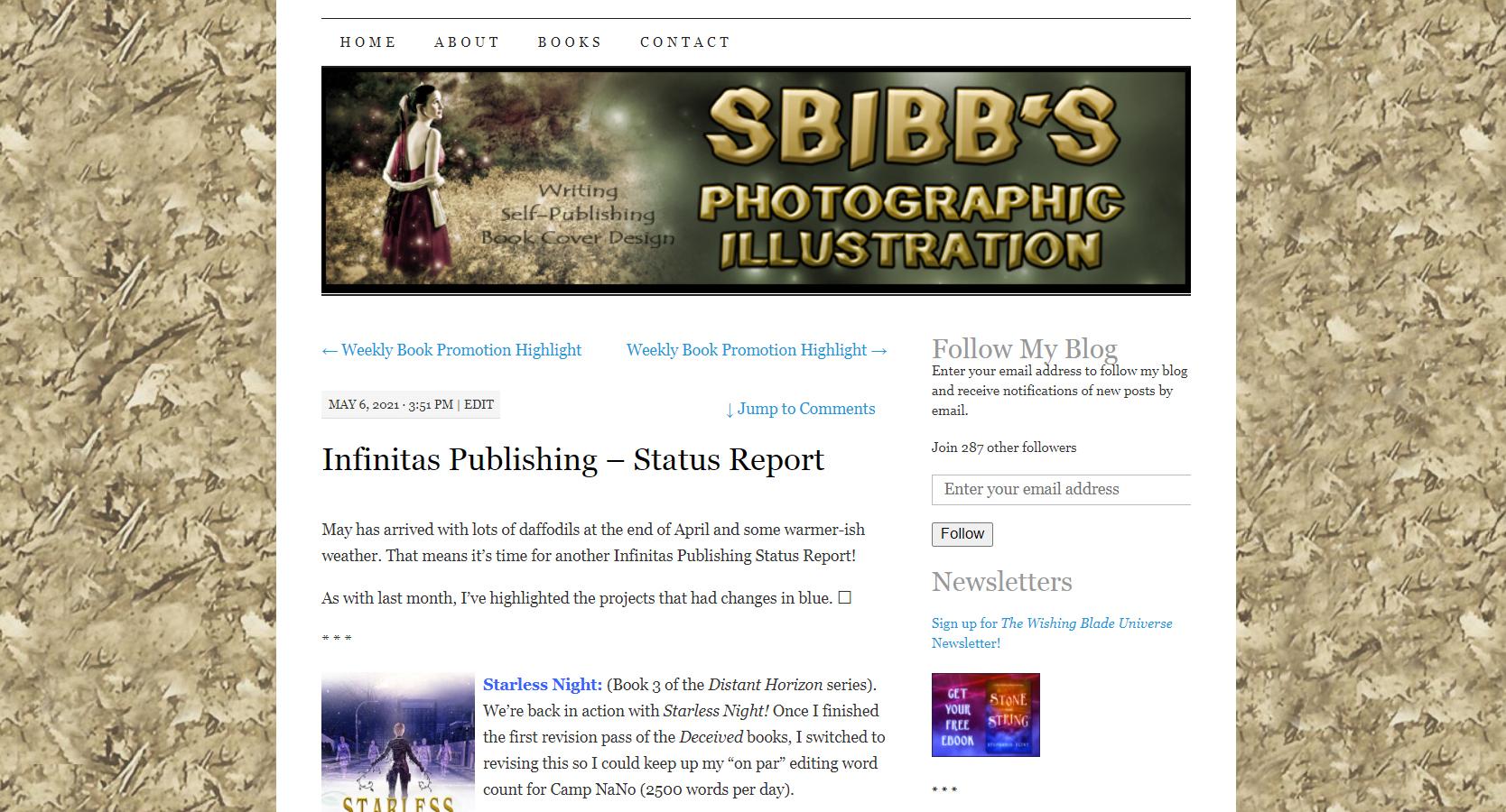 SBibb's Photographic Illustration Original Page Design