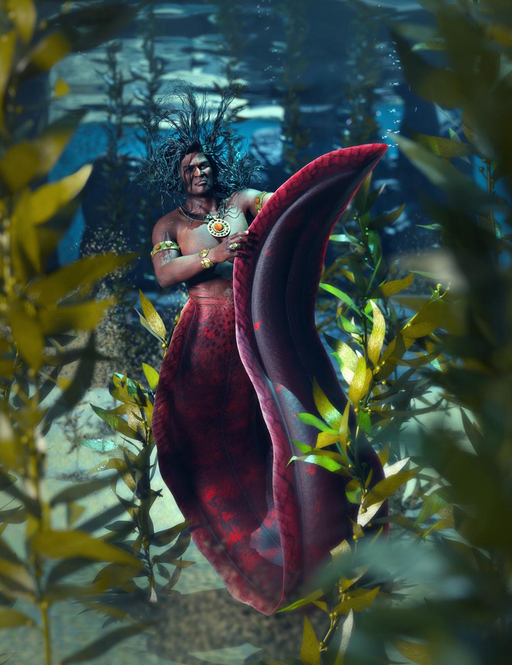 SBibb Cursed Merman Poses Promo